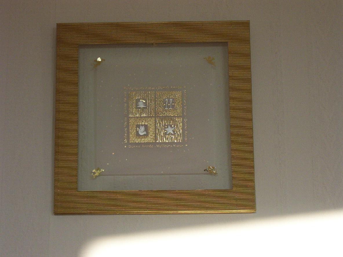 Carocadres carocoud carobricole p comme peintures reproductions et cartes - Cadre entre deux verres ...